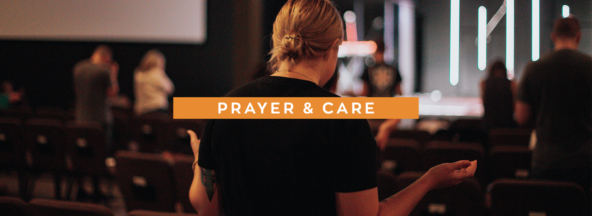 Prayer and Care Banner