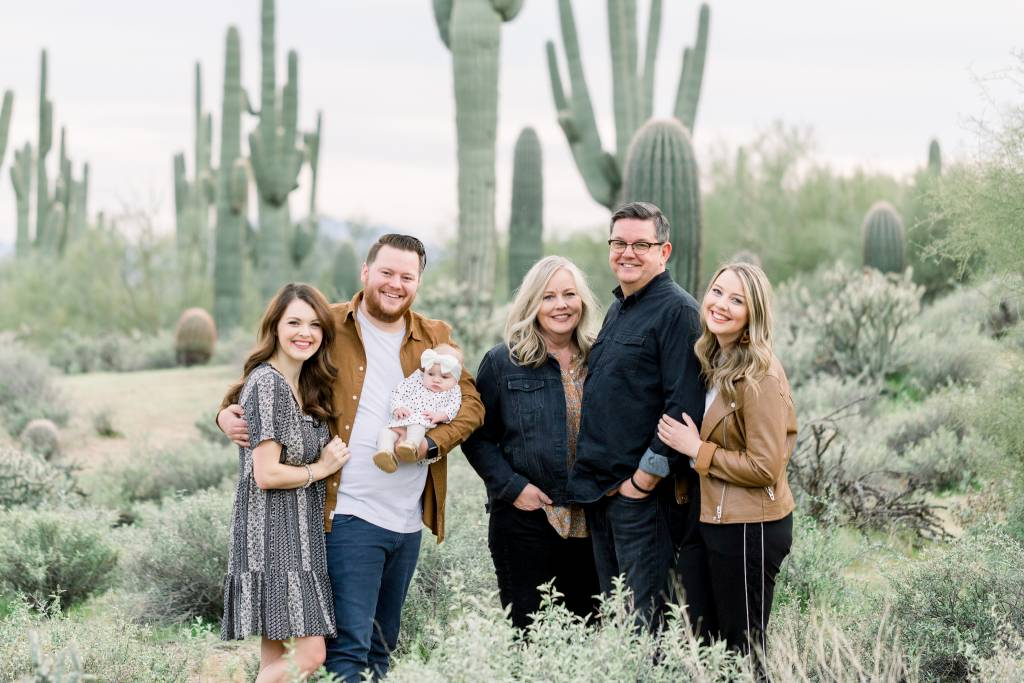 Kirkpatrick Family from New Heights Church in Chandler Arizona